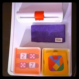 Osmo mirror and base, 2 games